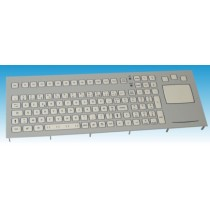 Panel-Mount 105 Key short travel Keyboard with Touchpad US Layout USB