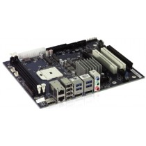 KTA75/Flex Board, w. 2x GB LAN, 4x USB 3.0, PCIe x16, AMD CPU