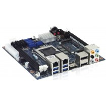 mITX Board Q87 Chipset, i7-4770, 3x Display Port, 2x DDR3L, 2x Gb LAN, 1 x mPCIe, 1 x mSATA