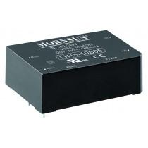 AC/DC Module 15W 85-264VAC,50/60Hz, 12V/1250mA Out, 80% Eff.