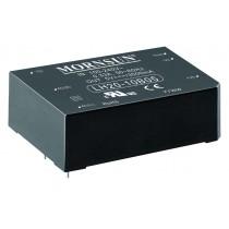 AC/DC Module 20W 85-264VAC,50/60Hz, 12V/1600mA Out, 81% Eff.