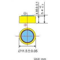 Alkaline-Batterie 1,5V/LR44