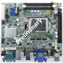 mITX ind. Motherboard with 6th Gen. Intel CPU's, C236 Chipset, 2xDDR4 Sockets