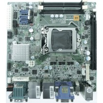 mITX ind. Motherboard with 6th Gen. Intel CPU's, H110 Chipset, 2xDDR4 Socket