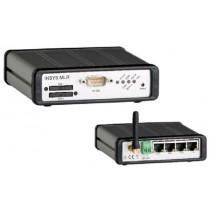 GSM/CSD/GPRS/EDGE-Class 12/UMTS/HSPA,Router m. NAT,VPN, Firewall, serieller Server, 4 LAN Ports