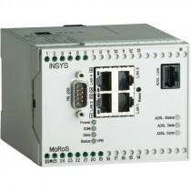 ADSL/2/2+-Router w. NAT, VPN, Firwall, 4 LAN Ports, Serial Ethernet Gateway, 2 digital I/Os, Dial In