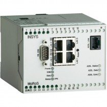 ADSL/2/2+-Router ANNEX-B w. NAT, VPN, Firwall, 4 LAN Ports, Serial Ethernet Gateway, 2 digital I/Os
