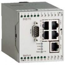 LAN-LAN-Router mit NAT, VPN, Firewall, 5 LAN Ports, ser.-Ethern.-Adapter,FW2.12.1,Mon-App
