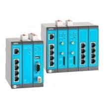 LAN-LAN Router, 5 LAN ports, 2 digital inputs, 1 MRX Slot
