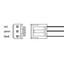Eingangskabel für UPSIC-xx / DC2412-UPS /-LD, 3-polig open end 500mm