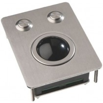 Trackball Unit 38mm stainless steel IP65 vandalproof PS/2 USB