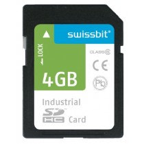 Industrial SDHC Memory Card S-450 4GB SLC, -25..+85°C