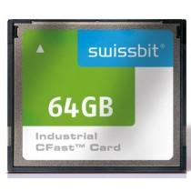 Industrial CFast Card, F-50, 32 GB, MLC Flash, -40°C to +85°C
