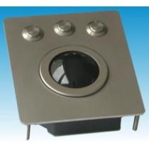 Trackball Unit 50mm black ball combo PS/2, USB