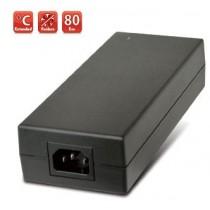 Tischnetzteil, 70W lüfterlos,90-264VAC,+24V / 3A