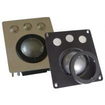 Trackball Unit Stainless Steel Laser 50mm PS/2,USB