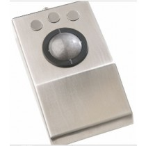 Marine Trackball, stainless steel with laser optical 50mm ball, IEC60945 certification