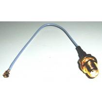 Adaptercable U.FL-SMA/f,IPEX 1.13mm Mini Coaxial