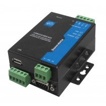 3onedata Interface Converter,1xUSB 2.0 TypeA to 1x RS232/422/485,-40+75C,Input 12VDC