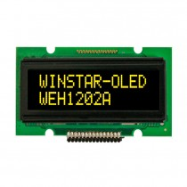 OLED 12x2 COB Character Display 46x14.5mm with built in Controller WS0010