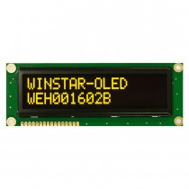OLED 16x2 COB Character Display 99x24mm with built in Controller WS0010