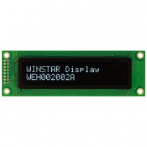 OLED 20x2 COB Character Display 85x18.6mm with built in Controller WS0010
