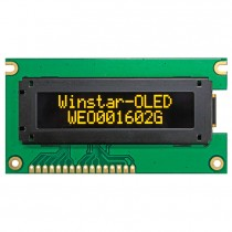 OLED 16x2 COB Character Display 58.22x13.52mm with built in Controller SSD1311M1Z