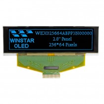 """OLED 256x64  monochrome TAB Graphic Display 2.8"""" with built in Controller SSD1322UR1"""