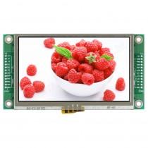 "TFT 4.3"" Panel + Control Board+RTS (RS232), 350 nits, Transmi, Resolution 480x272"