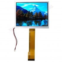 "TFT 5.7"" Panel only, 500 nits, Transmi, Resolution 320x240"