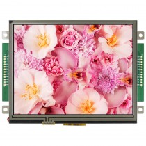 "TFT 5.7"" Panel + Control Board (RS232 )+ RTS, 350 nits, Transmi, Resolution 320x240"