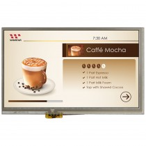 """TFT 7"""", Panel 400 nit, Res Touch Screen, Resolution 1024x600, HDMI + USB Interface"""