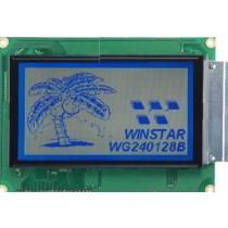 LCD 240x128, White LED, FSTN nBl, Tansfl, WT, 6:00 T comp.