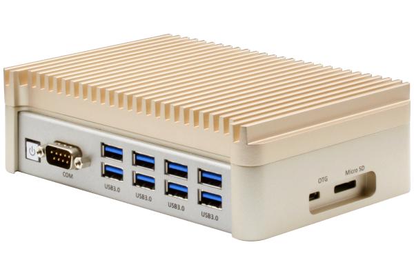 Embedded BOX-PC Fanless.Nvidia TX2.8G RAM.32G eMMC.8xUSB3.0.1xLAN.1xCOM. 2xHDMI.DC 10~24V Input
