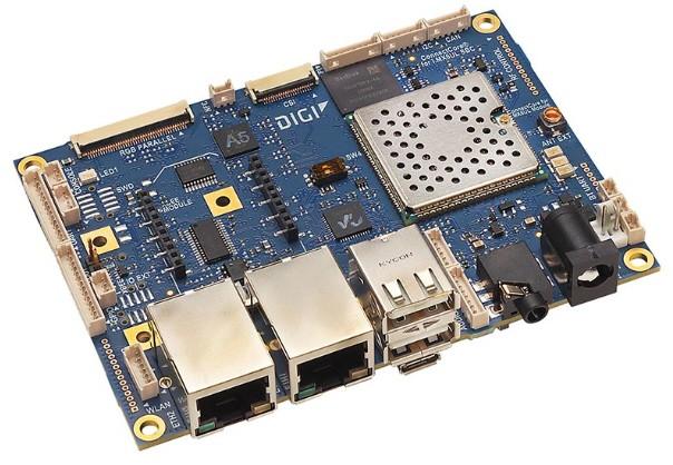 ConnectCore 6UL SBC Pro, Pico ITX, 528MHz, -40..+85C