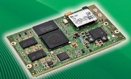 ConnectCore WI-i.MX53 module, 1GHz, 512MB Flash, 512MB RAM, 2xEth., 802.11abgn
