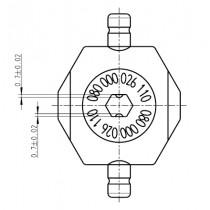Pressbackenset für 16 mm2, für