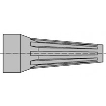 MINI-SNAP Baugr.2 Kn.-Tülle grau 8.0 - 9.0 mm