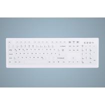 Hygiene Desktop Keyboard Sealed USB White GE-Layout
