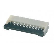 FFC Connector, ZIF, 0.50 mm, 10-polig