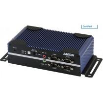 Fanless Embedded Controller N4200.1HDMI.2LAN.6COM.4USB.DC9-24V