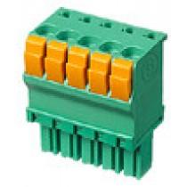 PC-Federleiste, gerade, 02 pol., RM 3.50mm