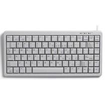 CHERRY Keyboard COMPACT USB+PS/2 hellgrau DE Layout o.WIN Keys