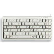 CHERRY Keyboard COMPACT USB+PS/2 hellgrau IT Layout m.WIN Keys