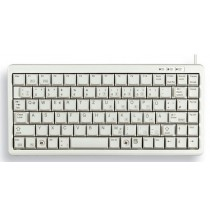 CHERRY Keyboard COMPACT USB+PS/2 hellgrau GB Layout m.WIN Keys