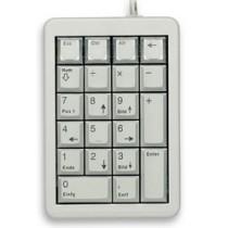 CHERRY Keypad PS/2 programmierbar hellgrau DE Layout