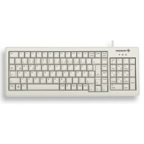 CHERRY Keyboard XS COMPLETE USB+PS/2 NumBlock hellgrau CH Layout
