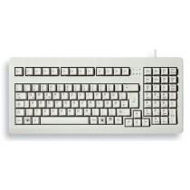"CHERRY Keyboard COMPACT USB+PS/2 19"" hellgrau PT Layout"