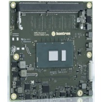 COM Express© compact type 6 Intel® Core™i5-7300U, 2x2.6GHz, 4GB memorydown, DDR4 SO DIMM