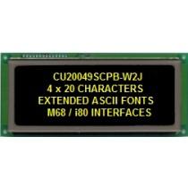 VFD Module 20x4Ch. low pwr. wide temp.